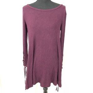 American Eagle Soft & Sexy Plush Sweater Dress M
